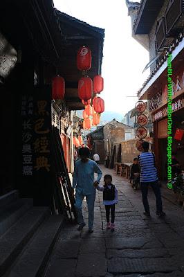 Alley, Phoenix Fenghuang County, Hunan, China