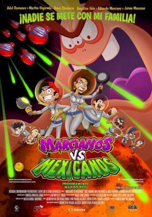 Marcianos vs Mexicanos (HD 720P y español Latino 2018) poster box code