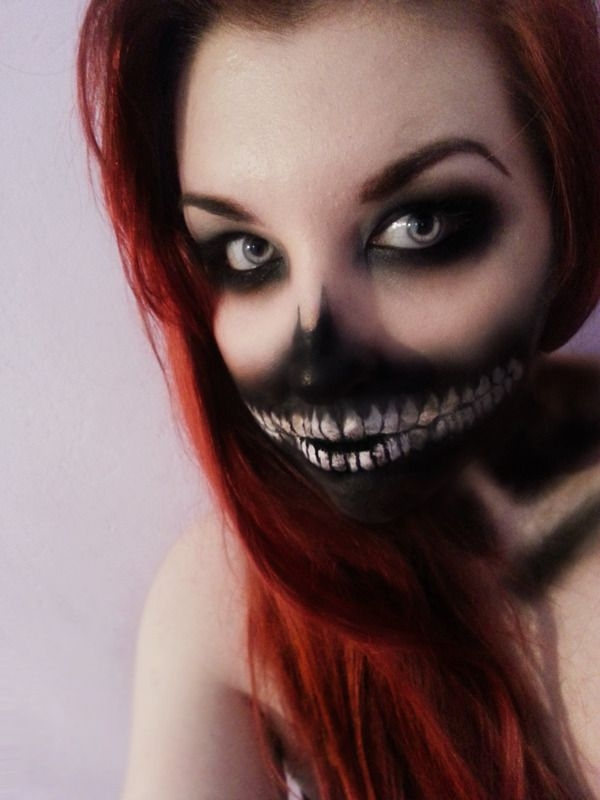 Scary Halloween Makeup Ideas Women Clown Guys