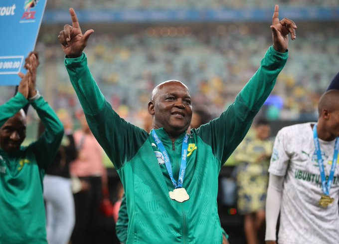 The most successful coach in Mamelodi Sundowns history Pitso Mosimane