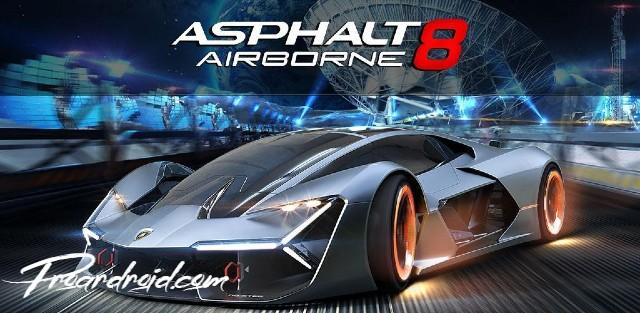 تحميل لعبة السباق والاثارة Asphalt 8: Airborne النسخة المهكرة للاجهزة الاندرويد باخر تحديث