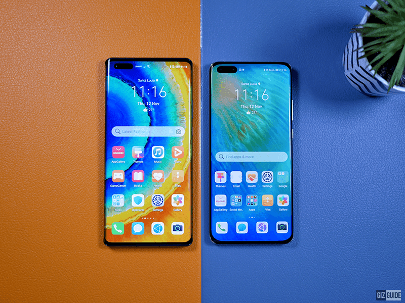 Its punch-hole is even smaller than the P40 Pro