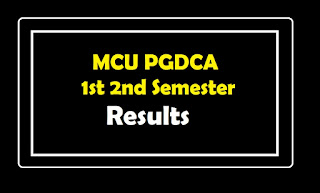 mcu pgdca result