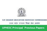 UPHESC Principal  Previous Papers