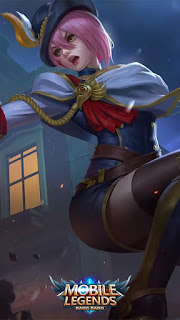Fanny Royal Cavalry Heroes Assassin of Skins V1