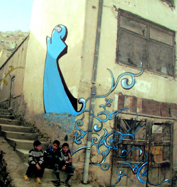 Women & Street Art In The Middle East (Saudi Arabia, Egypt, Afghanistan) An Article By Shahad Bishara. 2