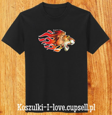 koszulka z lwem