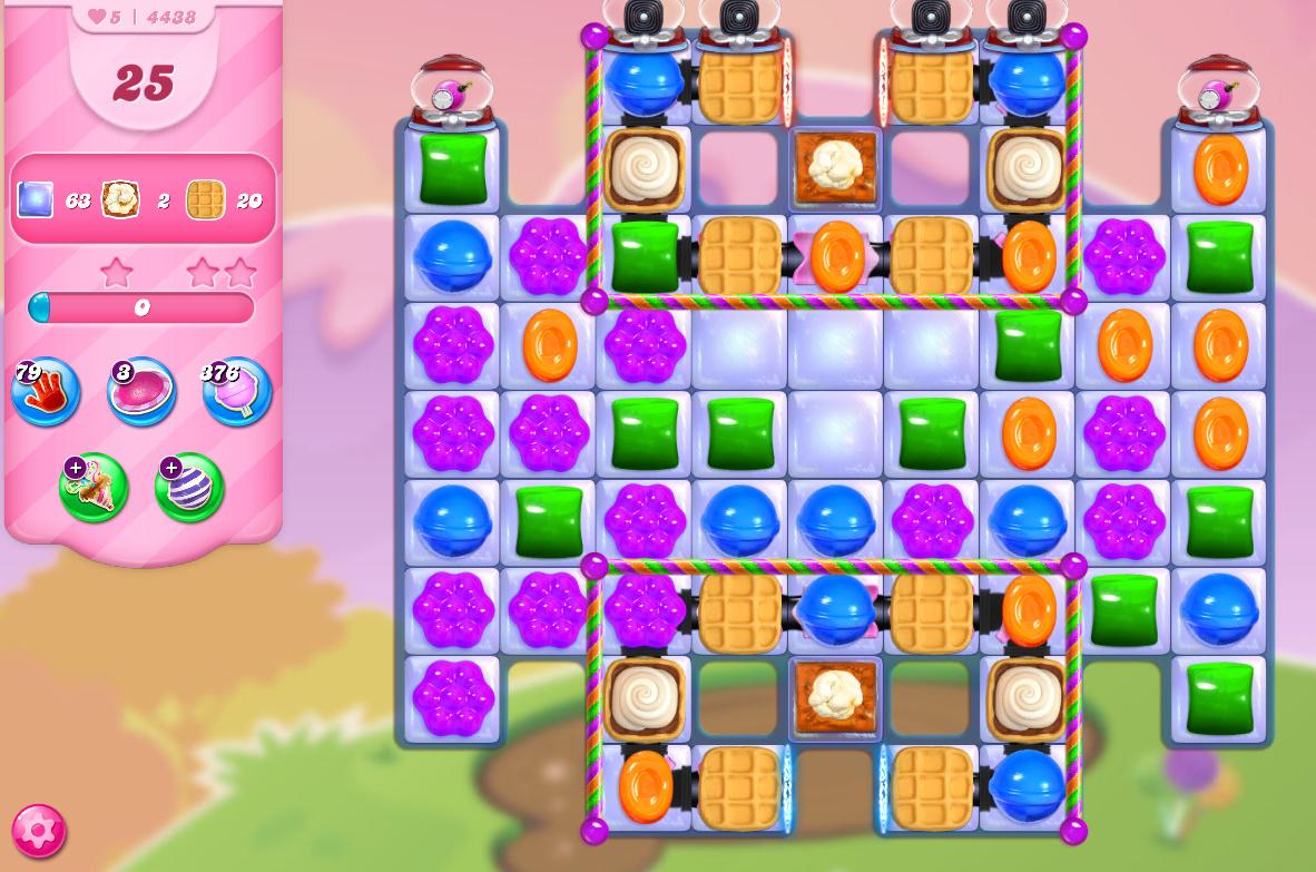 Candy Crush Saga level 4438