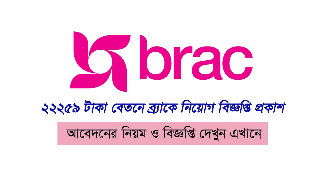 Brack NGO Job Circular 2019 Apply Now