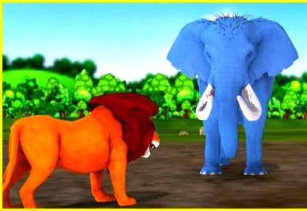 हाथी और शेर की कहानी   Hindi Kahaniya