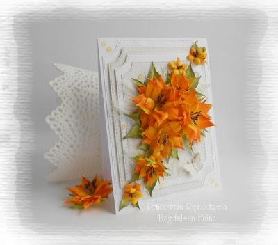 Kwiaty w kolorch jesieni
