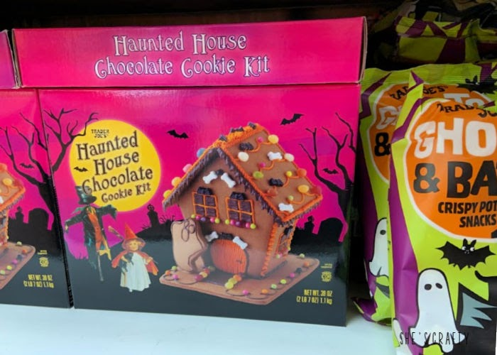 Family Friendly Halloween Traditions  -  decorate at haunted cookie house