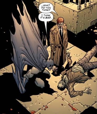 Doug Mahnke dibuja batman el hombre que ríe