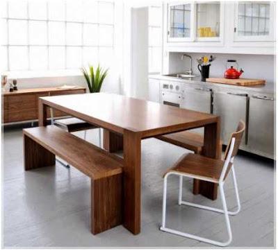 seperti apa desain dapur dan ruang makan