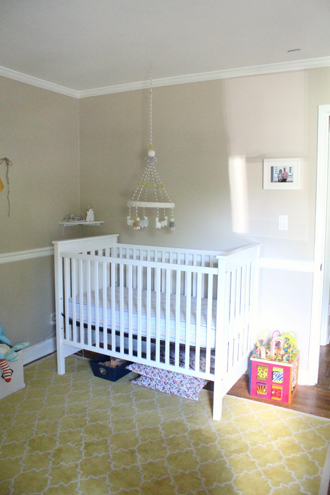 Ten June Our Rental House The Nursery Tour