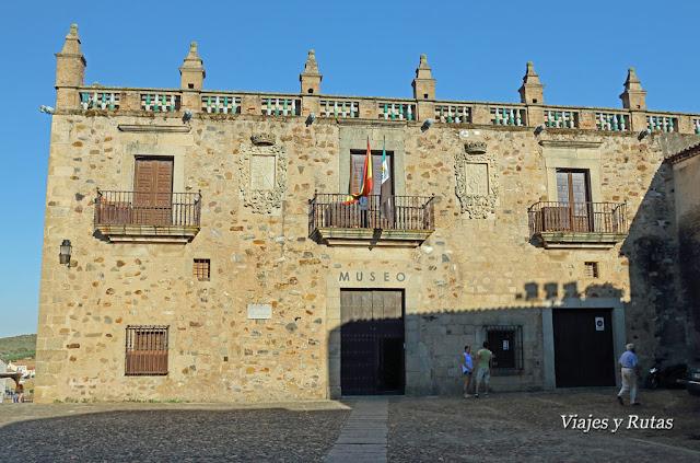 Palacio del Aljibe o de las Veletas, Cáceres