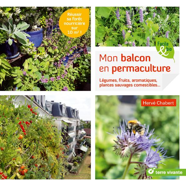 Mon avis sur le livre d'Hervé Chabert, Mon balcon en permaculture