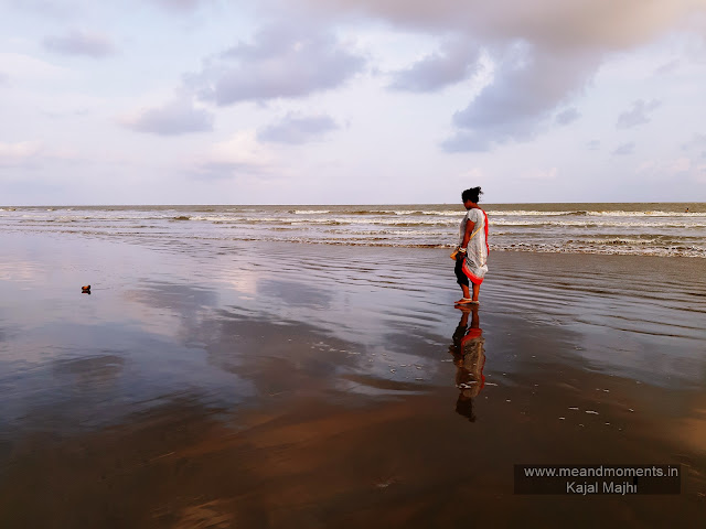 Digha, Digha tour photo, Digha sea photo, digha photography, girl walking on sea