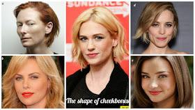 The shape of cheekbones kibbe
