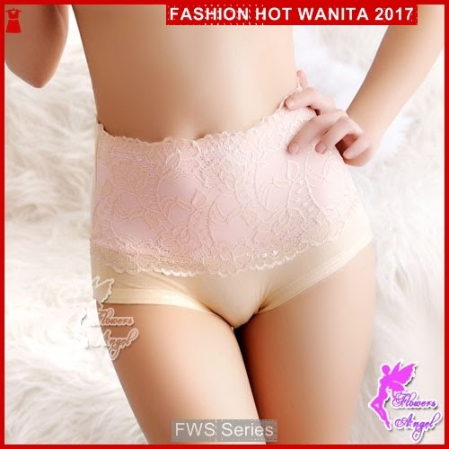 FWS067 Ladies Panty 016 Cream Wanita Berkualitas BMG