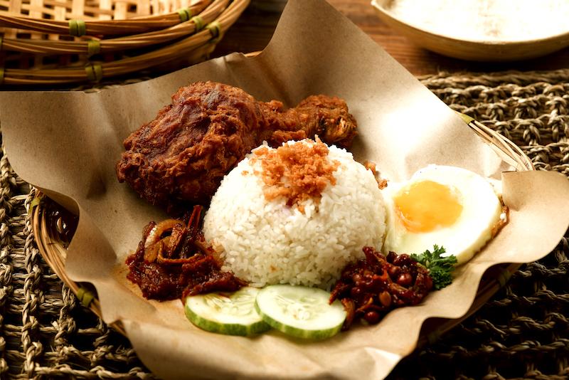 Classical Nasi Lemak - Chicken drumstick set