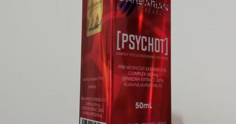Psychot 50 ml - precio ( $500 pesos ) pre entreno con