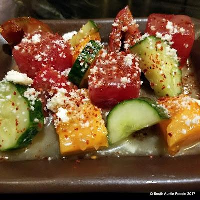 Kemuri Heirloom Tomato Salad