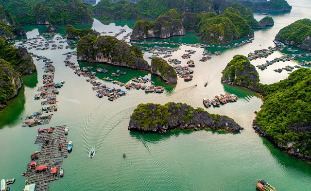 Ha Long Bay, Cat Ba - Nature Masterpiece Seen From The Sky2