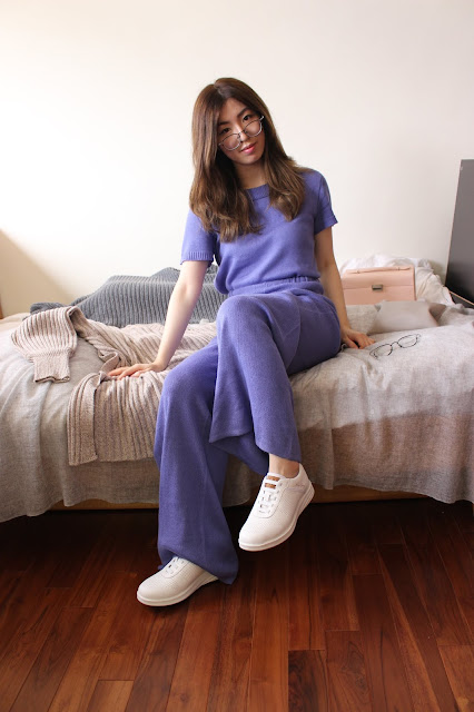 berknitwear, berknitwear etsy, berknitwear brand, berknitwear russia, two piece set blue, knitted cashmere set, cashmere loungewear, cashmere knit set, loungewear custom, work from home outfits