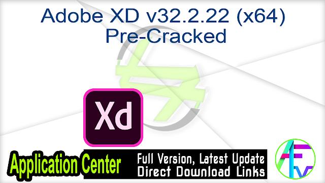 Adobe XD v32.2.22 (x64) Pre-Cracked