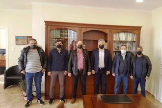 Εθιμοτυπική  Επίσκεψη του νέου  Διοικητικού Συμβουλίου της Ελληνικής Ομοσπονδίας Γούνας στον Σεβασμιώτατο Μητροπολίτη  Σισανίου & Σιατίστης  και   στον Δήμαρχο Βοΐου