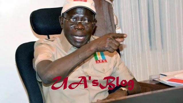 PDP planted Buhari's alleged 3rd term idea — Oshiomhole