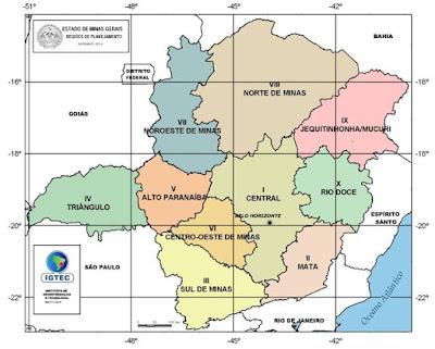 minas gerais, regiões, clima,vegetação, população,turismo.