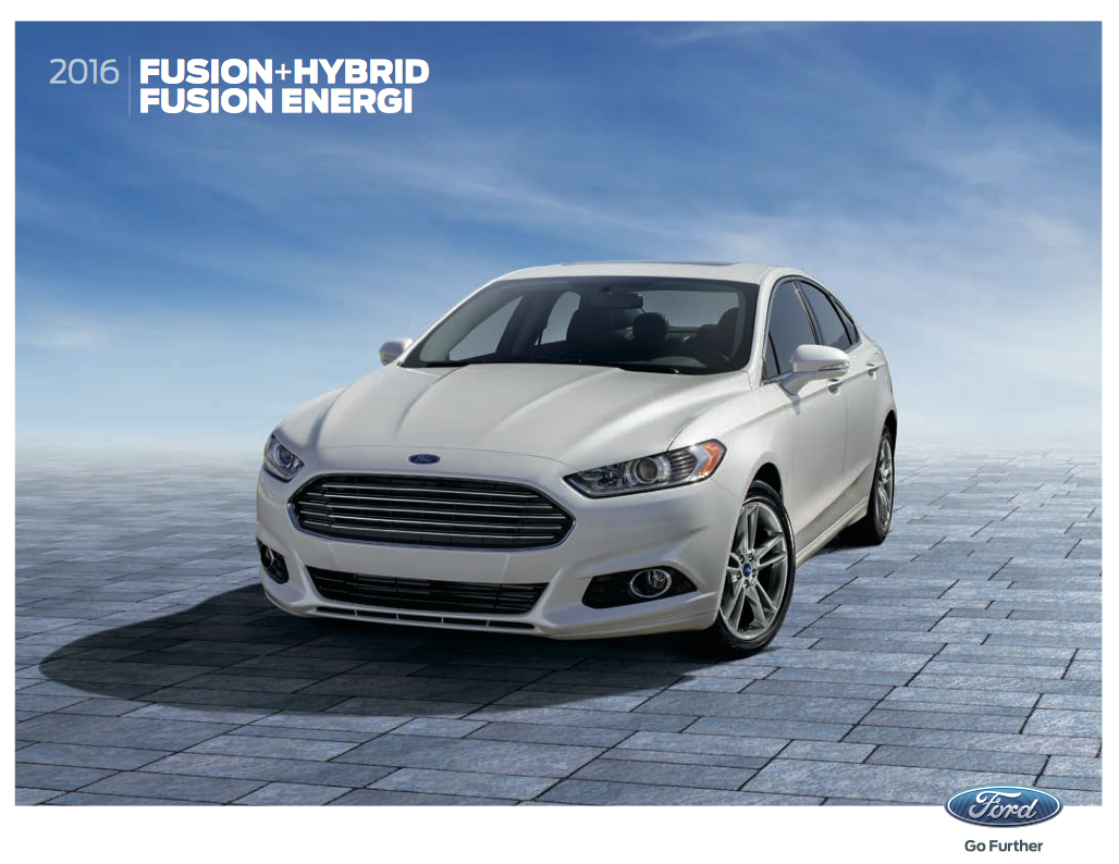 Able 2016 Ford Fusion Brochure