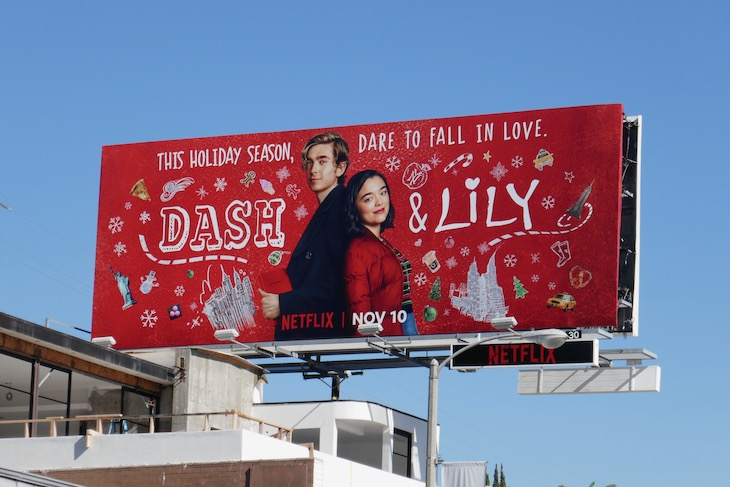 Dash Lily series premiere billboard
