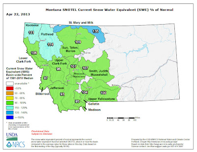 A little April snow is a great thing for Montana snowpack