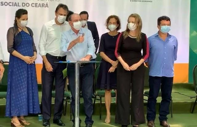 Jeová Mota participa do lançamento do Pacto da Assistência Social com seis prefeitos da região dos Sertões de Crateús