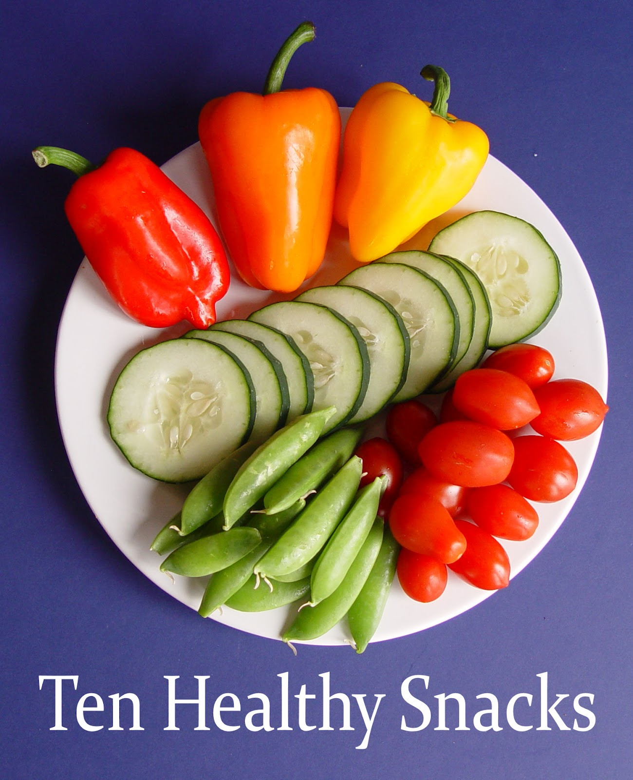 Ten Healthy Snacks With Printable Page