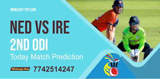 Match 2nd  ODI : IRE vs NED Dream11 Prediction, Fantasy Cricket Tips, Playing 11, Pitch Report, and Session Fency Update