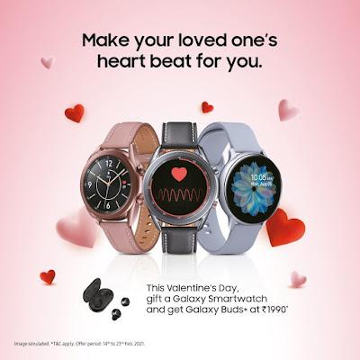 Samsung India popular smart watch brand
