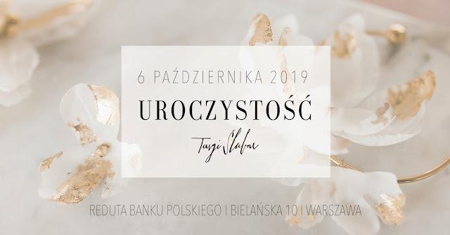 UROCZYSTOŚĆ: targi ślubne w Reducie Banku Polskiego 6.10