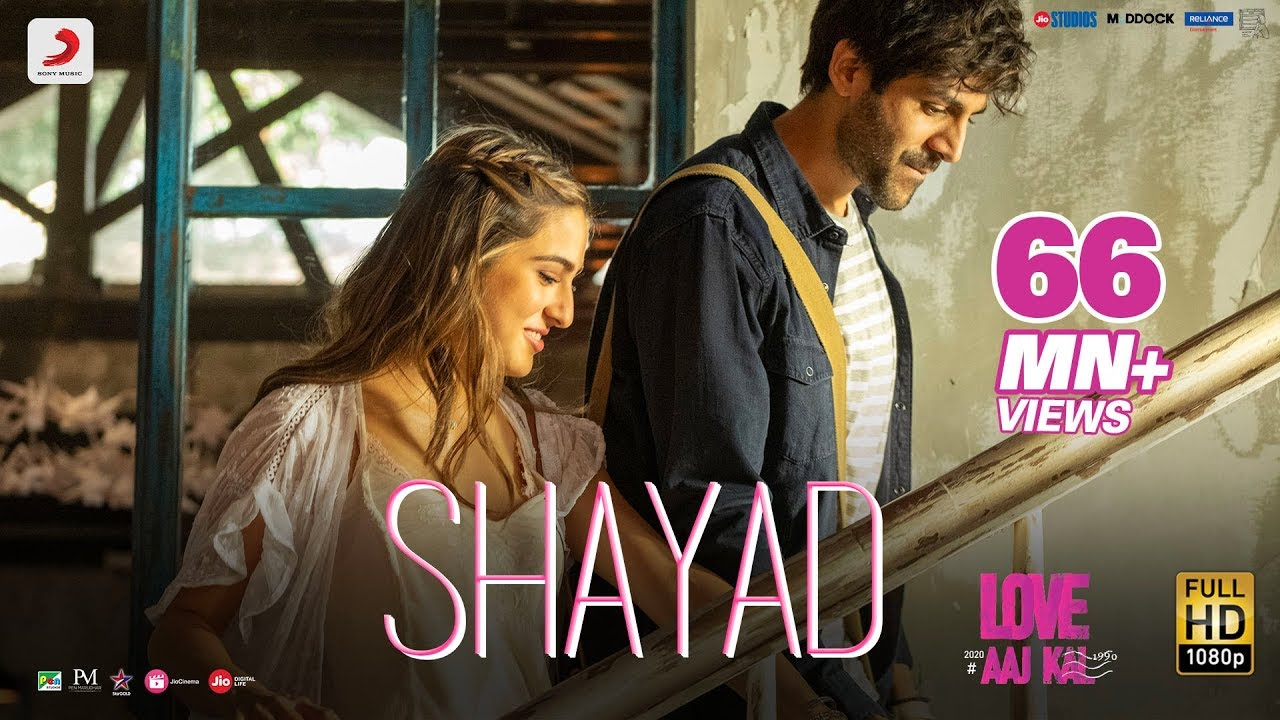 Shayad Lyrics in Hindi - Love Aaj Kal