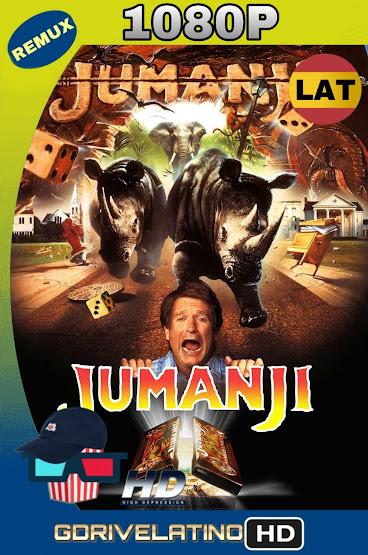 Jumanji (1995) BDRemux 1080p Latino-Ingles MKV