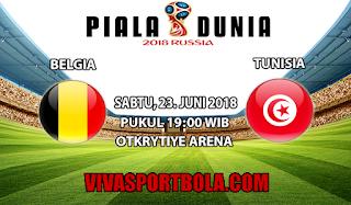 Prediksi Bola Belgia vs Tunisia 23 juni 2018