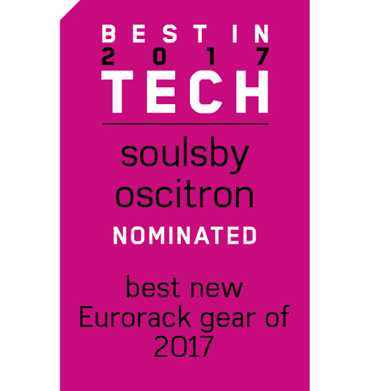 Oscitron nominated for Best In Tech 2017