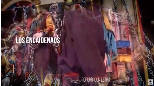 """🔎Popurri con LETRA🖊️ Comparsa🔗 """"Los Encaidenaos""""⛓️ (2020)"""