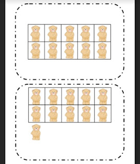 Ten Frame Flash Cards {FREEBIE}