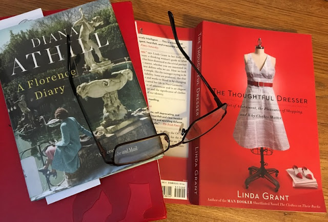two books. Diana Athill's A Florence Diary and Linda Grant's The Thoughtful Dresser