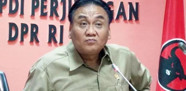 Pacul PDIP: Kalau Terjadi di Jawa Tengah, Bisa Rata Kantornya dengan Tanah