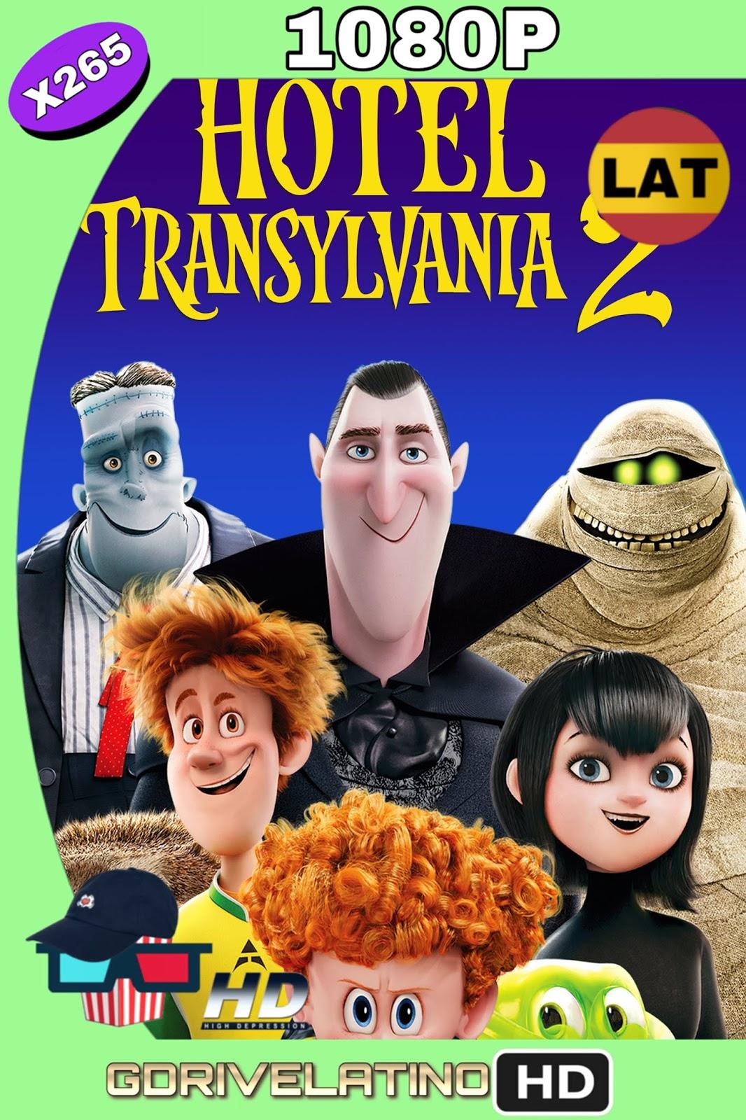 Hotel Transylvania 2 (2015) BDRip FULL 1080p ( HEVC x265) (Latino-Inglés) MKV